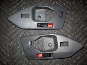 1987-92  FIREBIRD INNER DOOR HANDLE TRIM SURROUND MOULDING SET PAIR