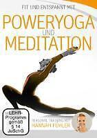 DVD Fit Entspannt mit POWERYOGA und MEDITATION Personal Training Hannah Fühler N