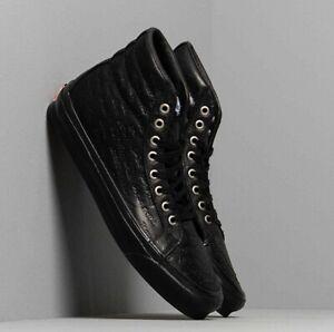Jim Goldberg X Vans Vault OG SK8-Hi LX Shoes Men's Size 9.5 Black Leather