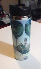 Fantasy Cup Mystical Fairy Dragon Balloon Stainless Steel Travel Mug Fairies New