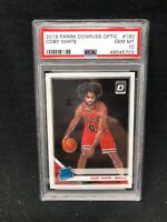 COBY WHITE 2019 PANINI DONRUSS OPTIC #180 RATED ROOKIE PSA 10 GEM MINT RC G63