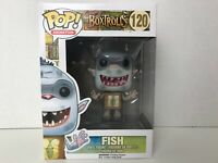 Funko POP Movies 120: The Boxtrolls FISH Vinyl Figure