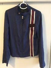 Prada Men's Nylon/Silk Zip Jacket