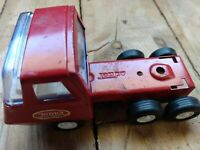 Vintage Tonka Mound. Minn #55010 Red Semi Truck Cab Pressed Steel Metal