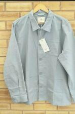 Mens Folk Thomas Overshirt Chore Jacket Size 4 Grey Ecru BNWT RRP £160