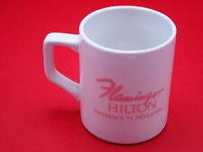 Flamingo Hilton Nevada White And Pink 10 Ounce Coffee Mug Cup