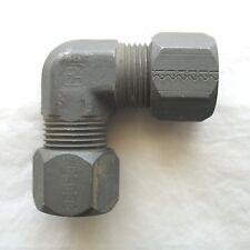 Parker-Hannifin 3/4 OD Compression Tube Elbow 90* Union Fitting Ferulok 12 EBU-S
