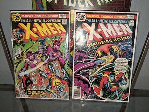 X-Men #98 & #99 Bronze age keys 🗝️