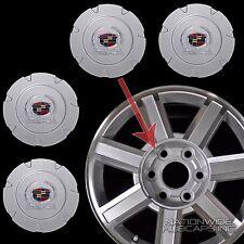 """07-14 Cadillac Escalade 18"""" Aluminum Wheel Center Hub Caps 6 Lug Rim Cover Hubs"""