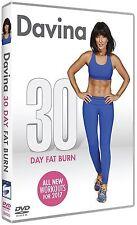 Davina - 30 Day Fat Burn for 2017 New DVD - Davina McCall New & Sealed FREE P&P