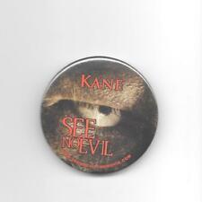 SEE NO EVIL ~ 2006 movie memorabilia Pinback Button  Glenn Jacobs