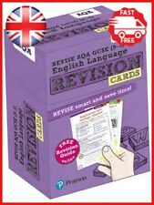 Revise AQA GCSE 9-1 English Language Revision Cards: with free online Revision