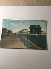 1900's Postcard Holland Pier Holland Rockaway Beach Long Island New York Staten