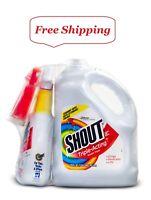 Shout Triple-Acting Liquid 1 Gallon Refill + 32 oz. Shout Trigger