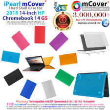 """mCover Hard Case for 2018 14"""" HP Chromebook 14 G5 series Laptop Computers"""