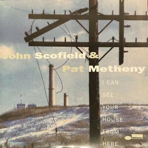 JOHN SCOFIELD & PAT MATHENY - I CAN SEE BLUE NOTE TONE POET SEALED VINYL LP