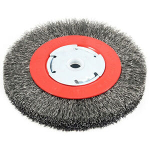Forney 72750 6000 rpm 1/2 to 5/8 in. Shank Crimped Wire Wheel Brush 6 Dia. in.