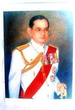 Bild picture König King Bhumibol Adulyadej RAMA IX Thailand 15x10 cm  (s8