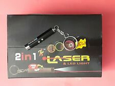 Lot Of (6) 2 In 1 Laser &Led Light Mix Color