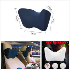 1X Adjustable Car Interior Seat Headrest Cushion Memory Foam U-Style Neck Pillow