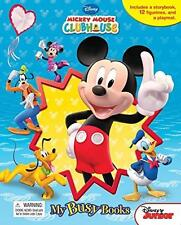 Disney Mickey Mouse Clubhouse My Busy Books Figurines Playmat Story Set NEW