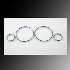 Chrome Dash Board Gauge Bezel Ring For Opel Vauxhall Astra G Zafira A