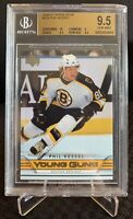 2006-07 UD Series 1 #204 Phil Kessel Young Guns RC Rookie Card BGS GEM MINT 9.5