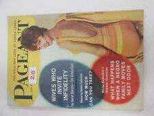 Pageant Magazine July 1962 Sophie Loren etc illustrated