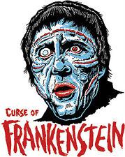 CURSE of FRANKENSTEIN • Mani-Yack Iron-On Transfer • Retro Monster Design!!!