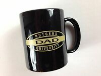 Rutgers Dad Coffee Mug Black Cup Scarlet Knights University Proud Father Parent