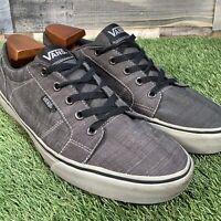 UK9 VANS Old Skool Canvas Skate Style Shoes - Comfort Low Top Trainers - EU43