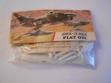 vintage Airfix 1106 Fiat G91 1.72 scale