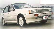TOYOTA COROLLA AE80 HATCH SIDE SKIRTS AND DOOR SPATS RARE PARTS 1985-1989