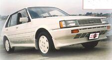 TOYOTA COROLLA AE80 HATCH FRONT SPOILER LIP RARE ITEM 1985-1989