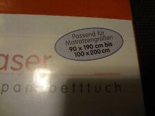 Dormia Mikrofaser fein interlock spannbetttuch glatter 90x190cm bis 100cmx200cm