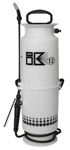 Goizper IK-12 Industrial Plastic Pressure Sprayer, Chemical, High Resistance