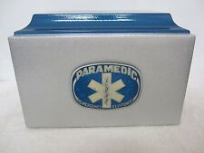 834 First Responder/Paramedic Cremation Urn with 5 Lines of Free lettering!