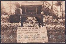 GORIZIA FOGLIANO REDIPUGLIA 07 FANTERIA SACRARIO MILITARE Cartolina viagg. 1926