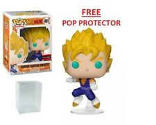 SUPER SAIYAN VEGITO FUNKO POP AAA ANIME EXCLUSIVE #491 w/Pop Protector PRE-ORDER