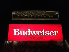 Vintage Budweiser Pool Table Light Sign Beer 80s Clydesdales Bar Tested