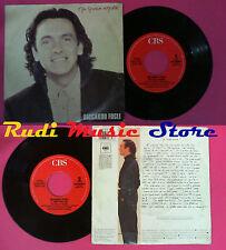 LP 45 7'' RICCARDO FOGLI Ma quale amore E' tempo per noi 1990 italy*no cd mc vhs