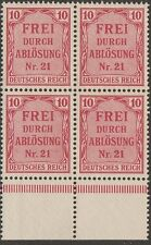 KAPPYSSTAMPS 249 Germany MNH Unmounted Block VF VERY FINE