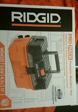 Rigid Pro Pack Portable Wet/Dry Vac 5 Hp 4.5 Gal 17 L WD4522 new