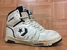 Vintage🔥 Converse PRO Basketball Sneakers Sz 11 Made In Korea White Black LE