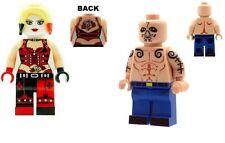 Personalizado diseñado Minifigura-Harley Quinn & El Diablo-Impreso en piezas de Lego
