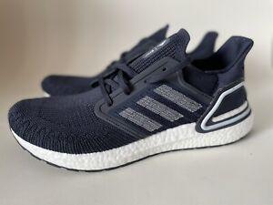 NIB Adidas UltraBOOST 20 Navy Running Shoes Men's Size 9 FW5669