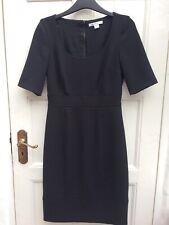 MARELLA Made In Italy Women's Black Short Sleeve Shift Dress 40/8