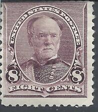 ORLEY STAMPS 1890-93 US Stamps Scott #225  Mint, MOGLH, 8 cents, Sherman