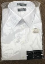 "Liz Claiborne Men White Shirt Large 16"" 34/35"