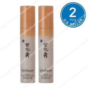 Sulwhasoo Rejuvenating Eye Cream 3.5ml x 2pcs (7ml) US Seller